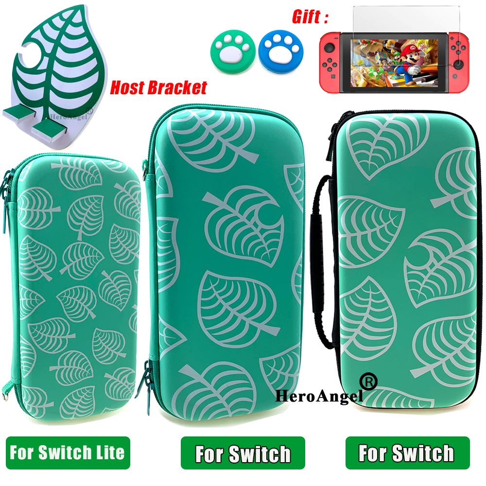 Blue Carry Case Accessories Storage Bag for Nintendos Switch Portable Travel Case for Nitendo Switch Lite Console Accessories