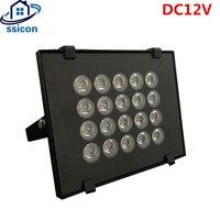 DC12V CCTV LEDS 20 piezas IR ledes Array CCTV Luz de relleno iluminador Cámara Lámpara de infrarrojos IP66 850nm impermeable 100m visión nocturna