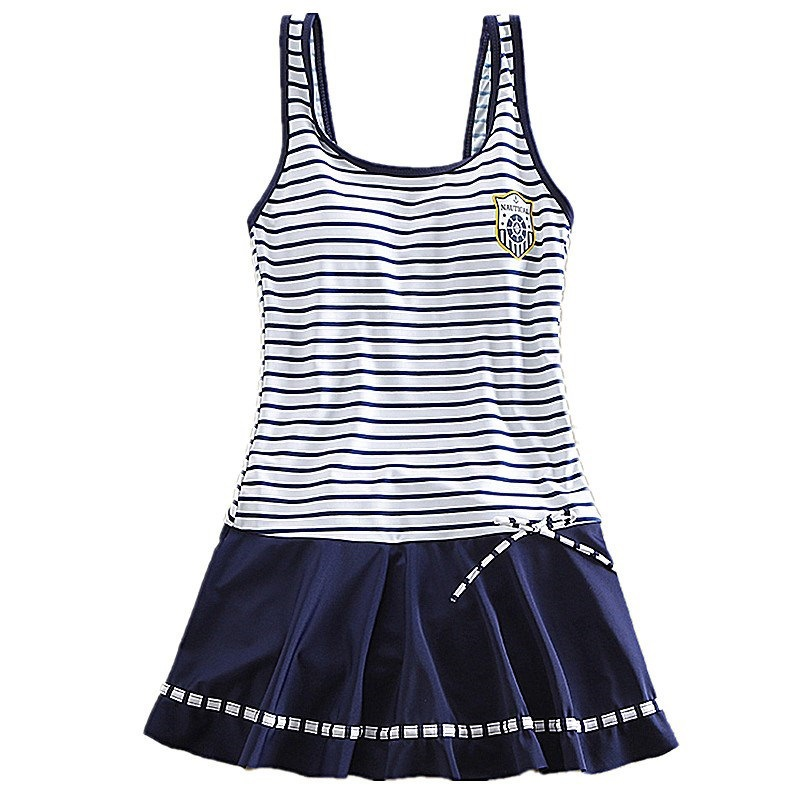 12 Girls One-piece Swimsuit Skirt 9 Big Boy 10 Students Boxer Swimming Fat GIRL'S 13 Swimming Suit 15-Year-Old