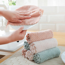 1/10pcs Household Cleaning Cloth Rag For Cars Microfiber Kitchen Towel Dishcloths Washing Cleaning Rags For Dish Washing