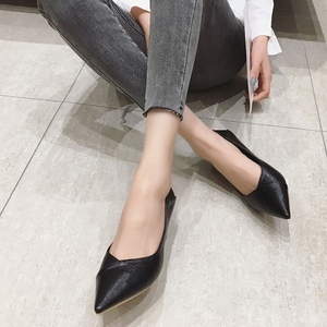 Image 5 - 2020 נשים משאבות אביב סתיו נשים גבוהה עקבים נעלי אופנה נשי 6cm העקב משרד גבירותיי להחליק על עבודה נעליים הנעלה שחור