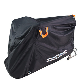 210D High Quality Waterproof Outdoor Motorcycle Moto Cover Electric Bicycle Covers Motor Rain Coat Dust Suitable for All Motors 265x105x125 xxl 210d waterproof protector motorcycle covers for universals scooter motor bike dirt outdoor cover coat