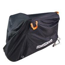 210D جودة عالية مقاوم للماء في الهواء الطلق دراجة نارية موتو غطاء دراجة كهربائية يغطي المحرك معطف واقي من المطر الغبار مناسبة لجميع المحركات