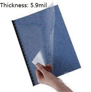 0.17mm Plastic Binding Report Cover A4 Glossy TRANSPARENT PVC Acetate Sheet 10/30/50/100 You Choose Quantity