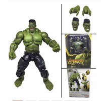 21cm SHF Movie Avengers Infinity War Hulk Bruce Banner PVC Action Figure Model Toy Doll Gift