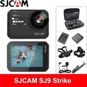 SJCAM SJ9 Strike Action Cámara 4K 60fps WiFi deportes DV cuerpo impermeable Ambarella H22 carga inalámbrica 2,33