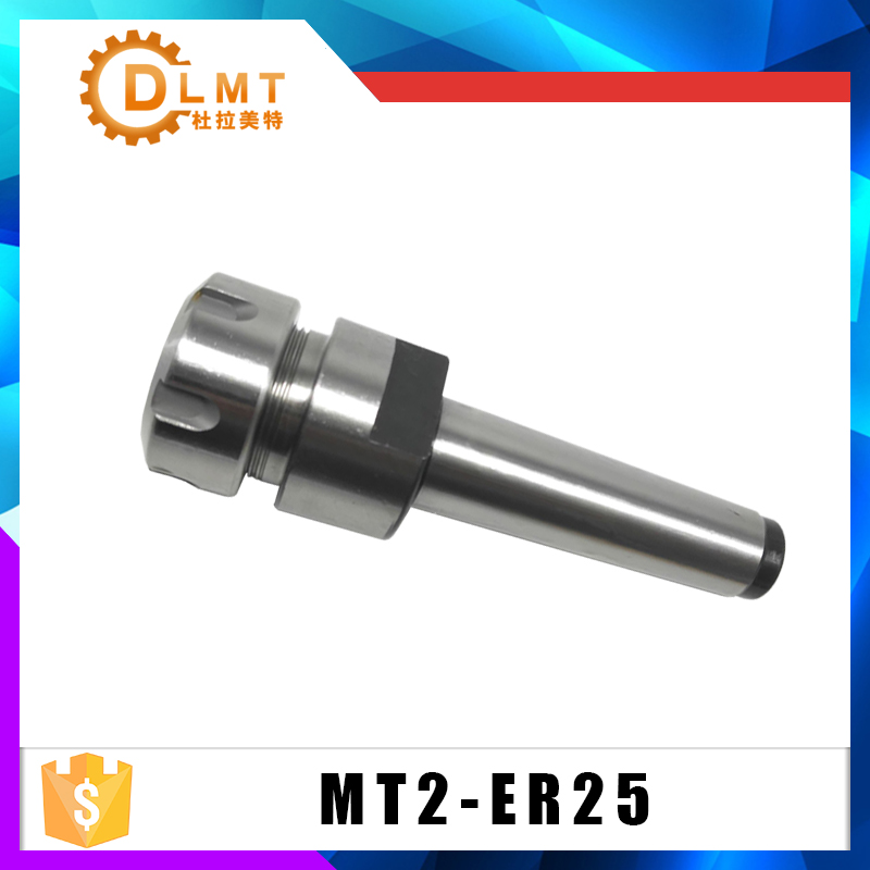 CNC Milling Collet Chuck ER25 MT2 M10 Taper Collet Chuck Holder Face Milling Arbor Adapter For CNC Milling Tools
