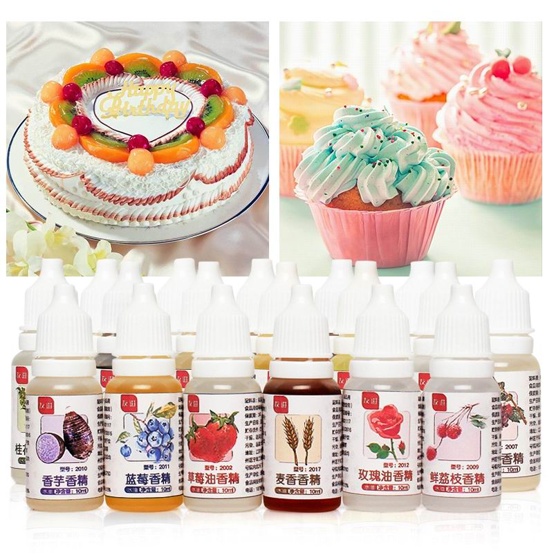 10ML Food Grade Aroma Magic Food Fragrance Drinks Jelly Candy Edible Essence Used For Baking Biscuits Handmade Soap Slime Tool