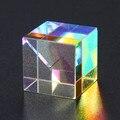 CMY Op-tic Pr-ism кубики-Призма из оптического стекла, дисперсионный RGB шестисторонний прозрачный модуль, оптическое стекло, класс игрушек, обучающ...