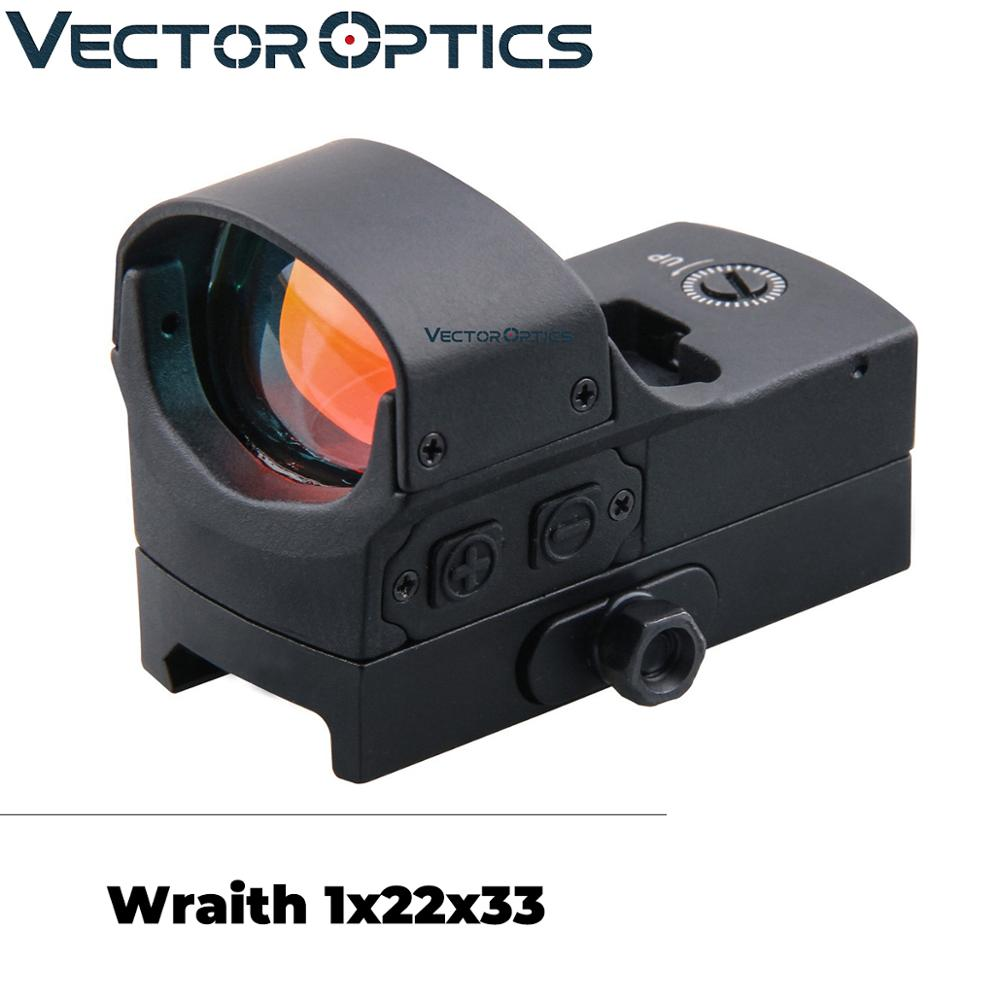 Vector Optics Wraith Tactical Reflex 3 MOA Motion Sensor Red Dot Sight High End fit Airgun Shotgun Rifle Shake Awake
