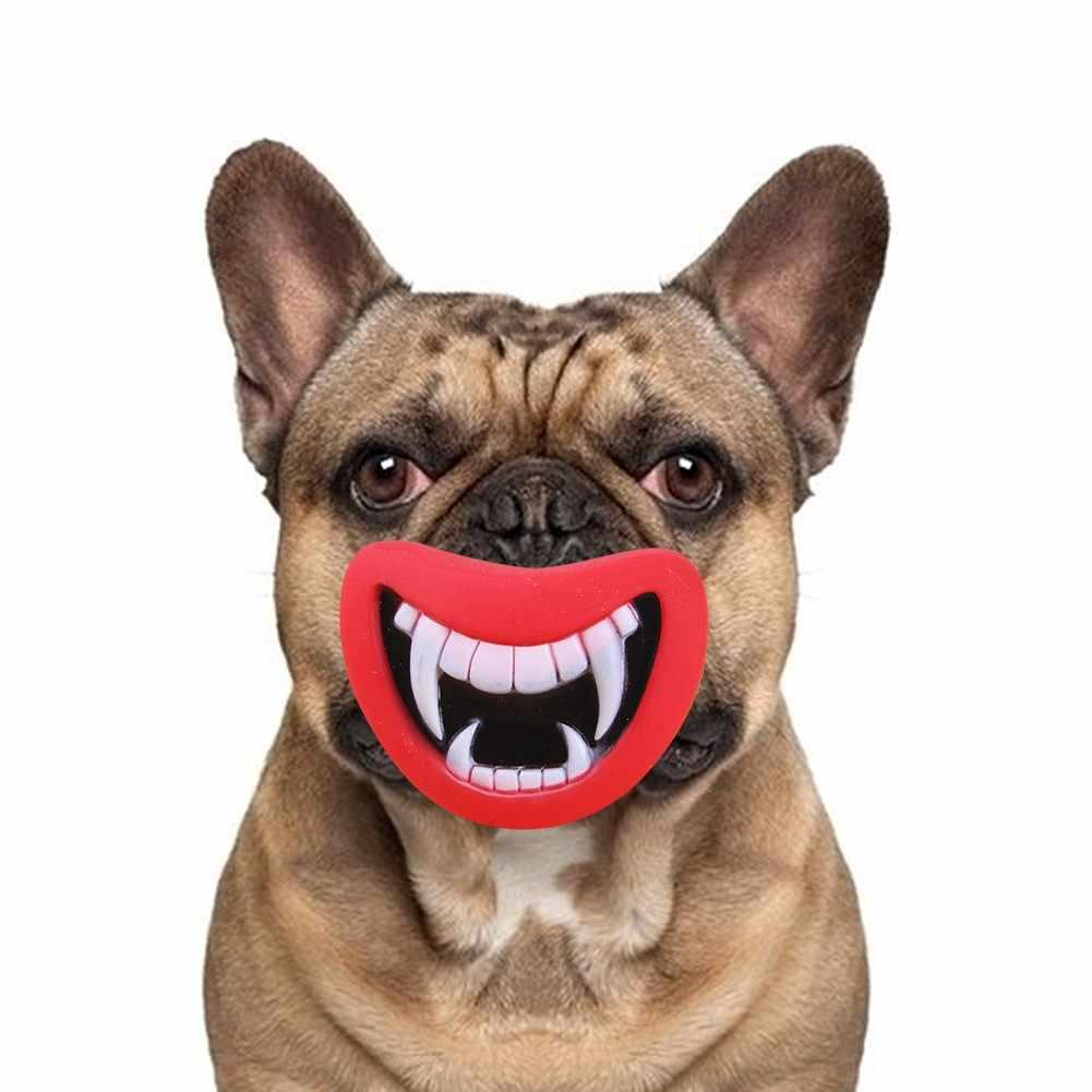 2019 مضحك الضبع لعبة الشيطان الشفاه الصوت الكلب اللعب/مضغ جرو النباح لعبة مستلزمات الحيوانات الأليفة