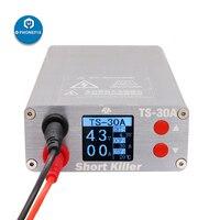 TS 30A TS 20A curto assassino pcb curto circuito máquina de detecção de falhas para reparação de iphone kit de reparação de queima de curto circuito|Conj. ferramentas elétricas| |  -