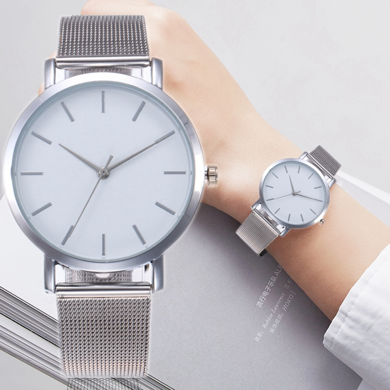 Gogoey Gold Sliver Mesh Women's Watch Luxury Fashion Female Clock Ladies Wrist Watch Women Relogio F