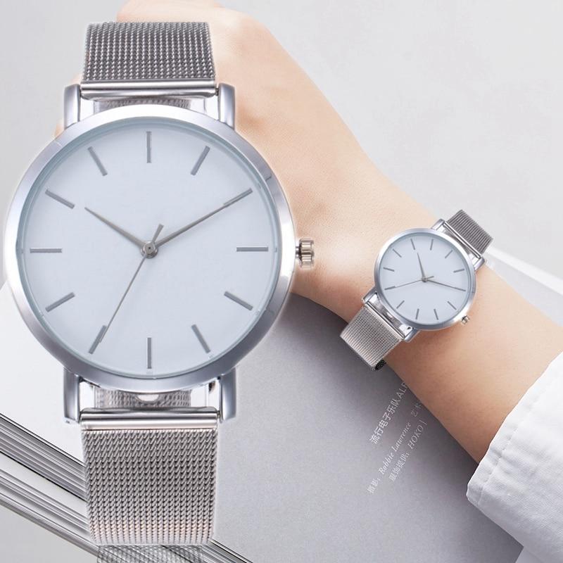 Gogoey altın gümüş örgü kadın İzle lüks moda kadın saat bayanlar kol saati kadınlar Relogio Feminino reloj mujer zegarek