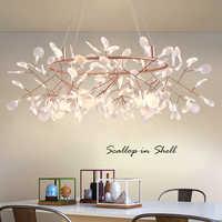 Nordic dekoracyjne projektant żyrandol kryty nowoczesne luksusowe oświetlenie oprawy oświetleniowe dla salon jadalnia pokój Loft sypialnia