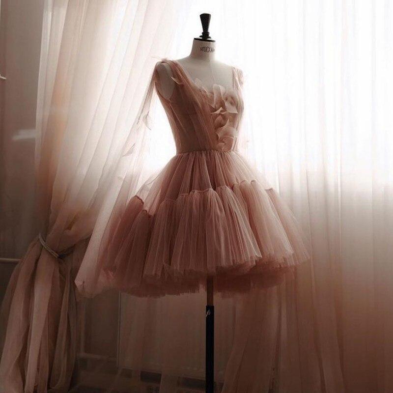 Cocktail Homecoming Dresses Short Prom Evening Formal Dress Long Party Gown 2019 Avondjurk Robe De Soiree