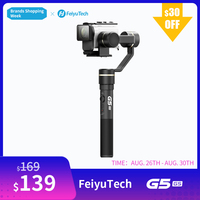 FeiyuTech Feiyu G5GS 3 Axis Handheld Action Camera Gimbal Splash proof Stabilizer for Sony X3000 X3000R AS50 AS50R