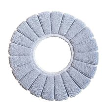 Зимнее удобное мягкое подогреваемое моющееся сиденье для унитаза коврик набор аксессуаров для ванной комнаты интерьер для домашнего декора коврик для унитаза
