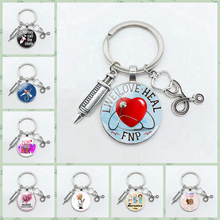 Хит продаж брелок кольцо для ключей больницы медсестры медицинского