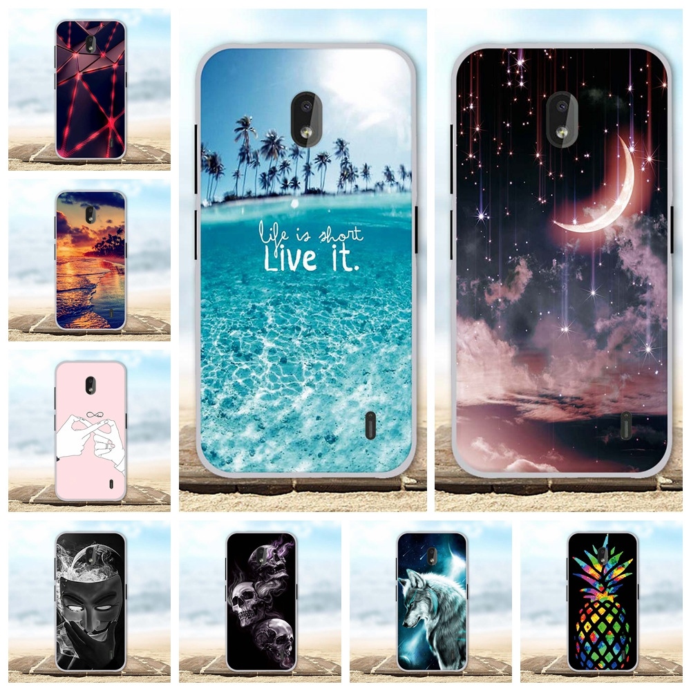 For <font><b>Nokia</b></font> 2.2 4.2 Cover Ultra Slim Soft TPU Silicone For <font><b>Nokia</b></font> <font><b>3310</b></font> <font><b>3G</b></font> 4G <font><b>Case</b></font> Girl Patterned For <font><b>Nokia</b></font> X5 5.1 Plus Shell Capa image