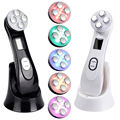 5in1 RF EMS Electroporation LED Photon Light Therapy Beauty Device Anti Aging Face Lifting Tightening Eye Facial Skin Care Tools