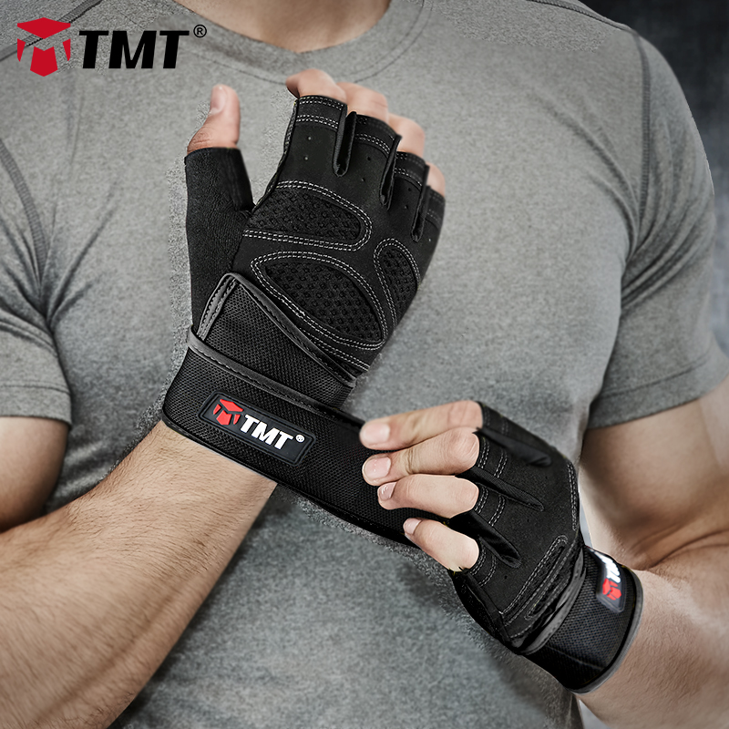REXCHI Workout Gloves,Weight Lifting Gloves 18 Wrist Wraps Support Men Women,Breathable Full Palm Protection /& Non-Slip,Gym Gloves Weight Lifting Fitness Exercise Training