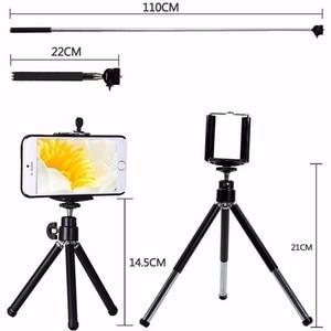 Image 5 - TOKOHANSUN 10 In 1 Universal Phone Camera 12X Zoom Lens For Smartphone Telephoto Lens Wide Angle FishEye Macro Tripod for iPhone