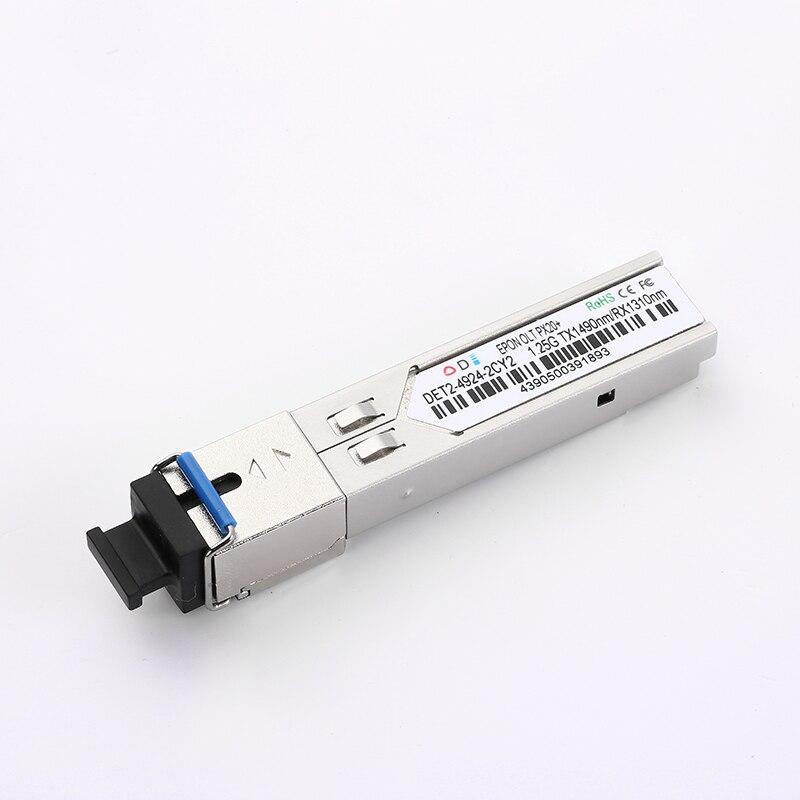 Epon Olt Sfp Transceiver 1.25G PX20+ 20KM GEPON Olt SFP  Gpon Wifi Onu  Router Fiber 1.25Gbps EPON OLT PX20+ C+ 1490/1310nm