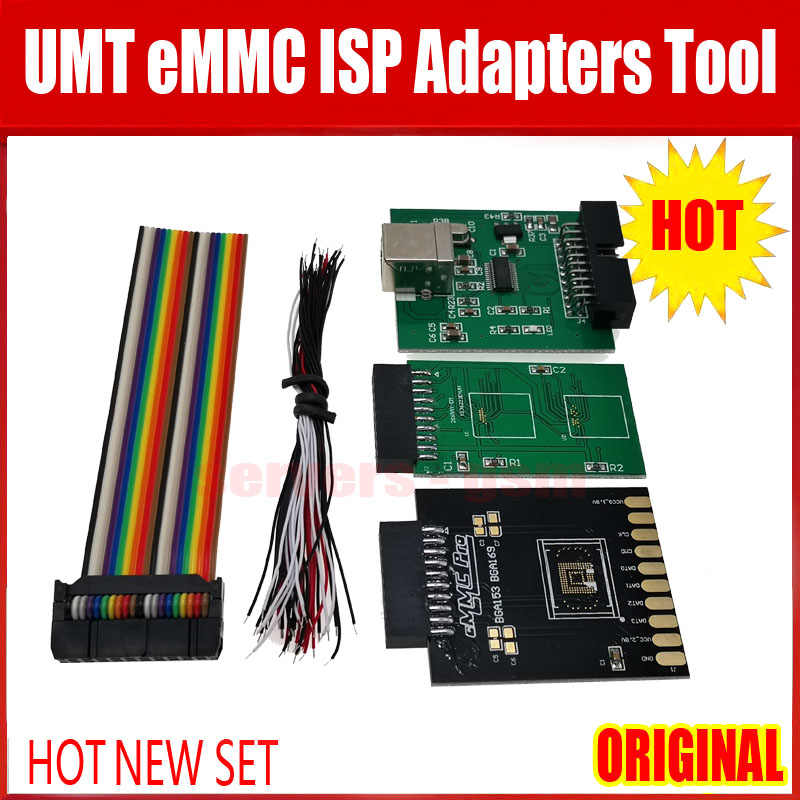 2020 NEUE ORIGINAL UMT eMMC ISP Adapter Werkzeug 5 in 1 für UMT DONGLE/UMT PRO BOX/NCK PRO