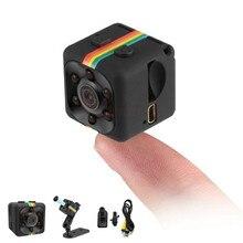 Novedad sq11 Mini cámara 480P HD Sensor visión nocturna videocámara movimiento DVR Micro Cámara deporte DV Video cámara pequeña cam SQ 11