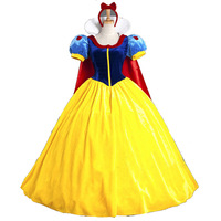 Europe And America Women's Mantle Snow White Princess Clothing COS Halloween Character Play Game Uniform Suit
