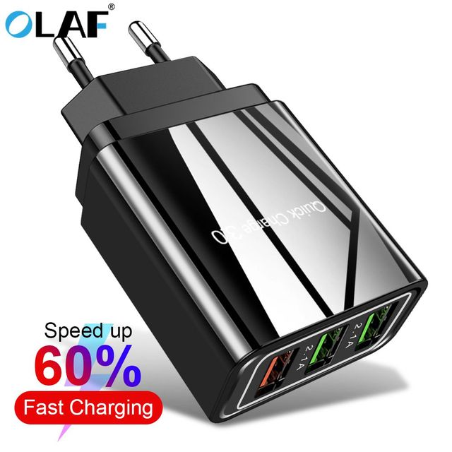 OLAF USB Charger Quick charge 4 0 for iPhone X 8 7 Fast Charger for