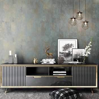 Retro Non-woven Plain Color Wallpaper Living Room TV Sofa Bedroom Luxury Home Decor Wall Papers Rolls For Walls 3 D Papel Tapiz vintage non woven plain solid color wallpaper luxury bedroom living room sofa tv background home decor wallpaper for walls roll