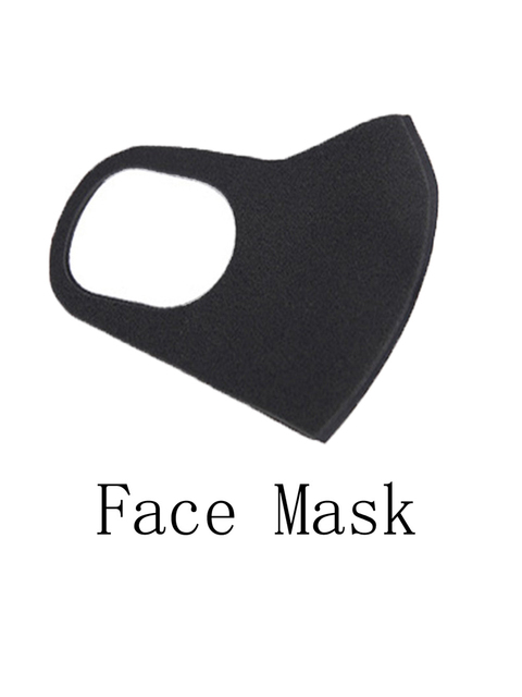 Reusable Face Cover Anti Dust Flu with Cabon Filter Mouth Protection Pad Shield