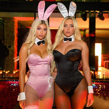 KLALIEN solid color High elastic cosplay slim fit bodyduit woman 2020 hot sale sexy bodycon Entertainment center outfit mujer