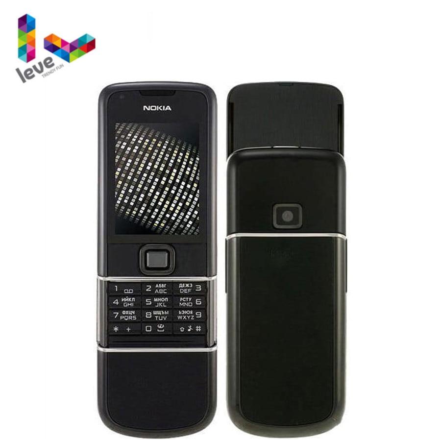 Original Nokia 8800 Mobile Phone 2G GSM Tri-band Unlocked Classic 8800 Refurbished Phone Russian Arabic Keyboard & 3 Colors
