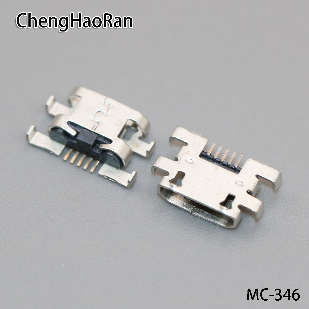 ChengHaoRan 100pcs/lot 5pin for UMI UIMI 4S U4S 5pin Mini Micro USB Connector Charger Jack Charging Port socket plug dock