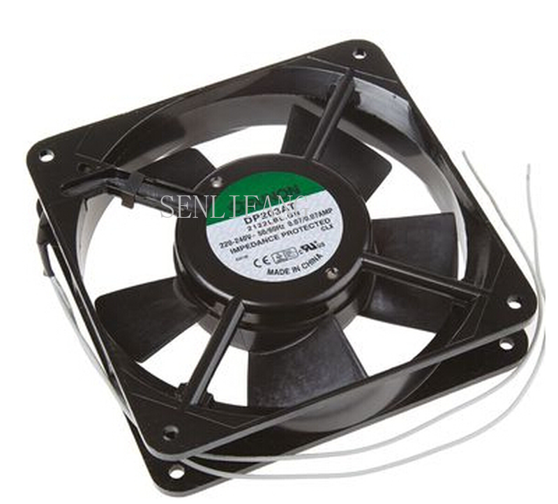 Free Shipping Original DP203AT 220V 0.07A 12CM 12025 Ultra-quiet AC Fan