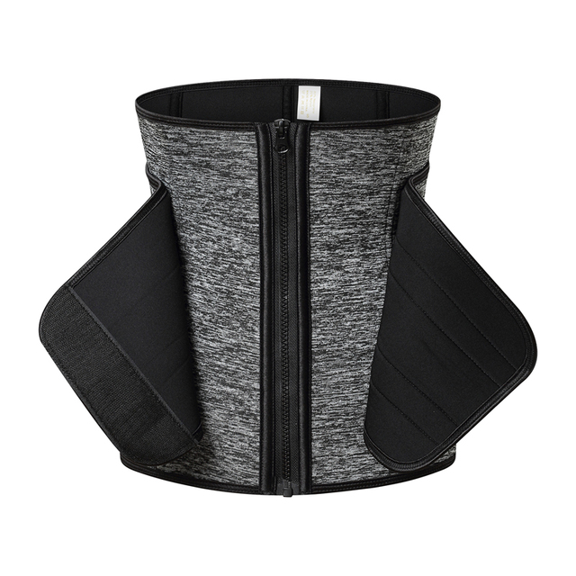 Waist Trainer Support Women Slimming Sheath Belly Reducing Shapers Sauna Tummy Sweat Shapewear Workout Trimmer Belt Corset 4