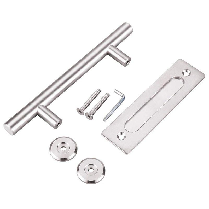 New 304 Stainless Steel Sliding Barn Door Pull Handle Wood Door Handle Door Handles For Interior Doors Handle