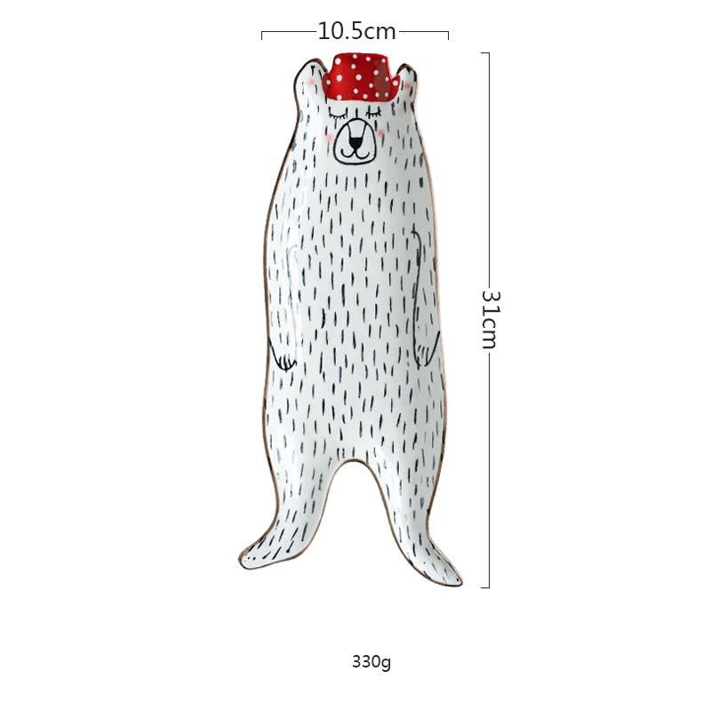 (Red Hat bear) Dish