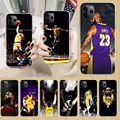 LeBron basketball James king 23 чехол для телефона iphone 5 5S 6 6S PLUS 7 8 12 mini X XR XS 11 PRO SE 2020 MAX прозрачный