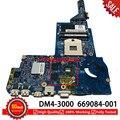 669084-001 Материнская плата ноутбука для hp DM4 DM4-3000 материнская плата 48.4qc05011