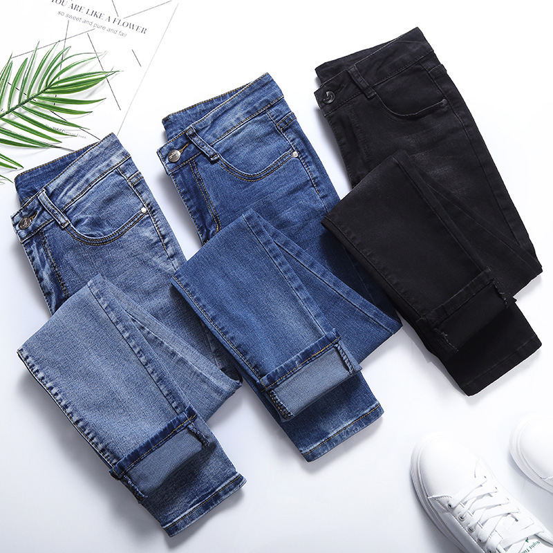 Winter Warm Thick Fleece 2019 Jeans For Women Skinny High Waist Jeans Woman Denim Pencil Pants Women Jeans Pants Plus Size