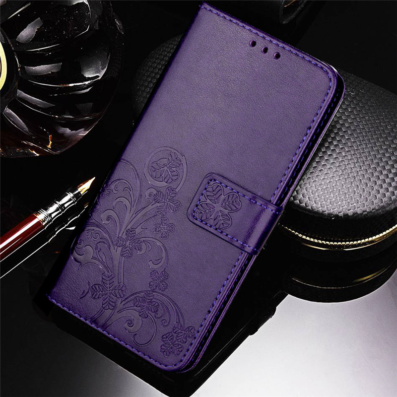 Flip Flower Phone Case for Samsung Galaxy S2 S6 Edge S7 S8 S9 Plus S3 S5 S4 Mini Duos Neo Fundas Wallet Cover Kickstand image
