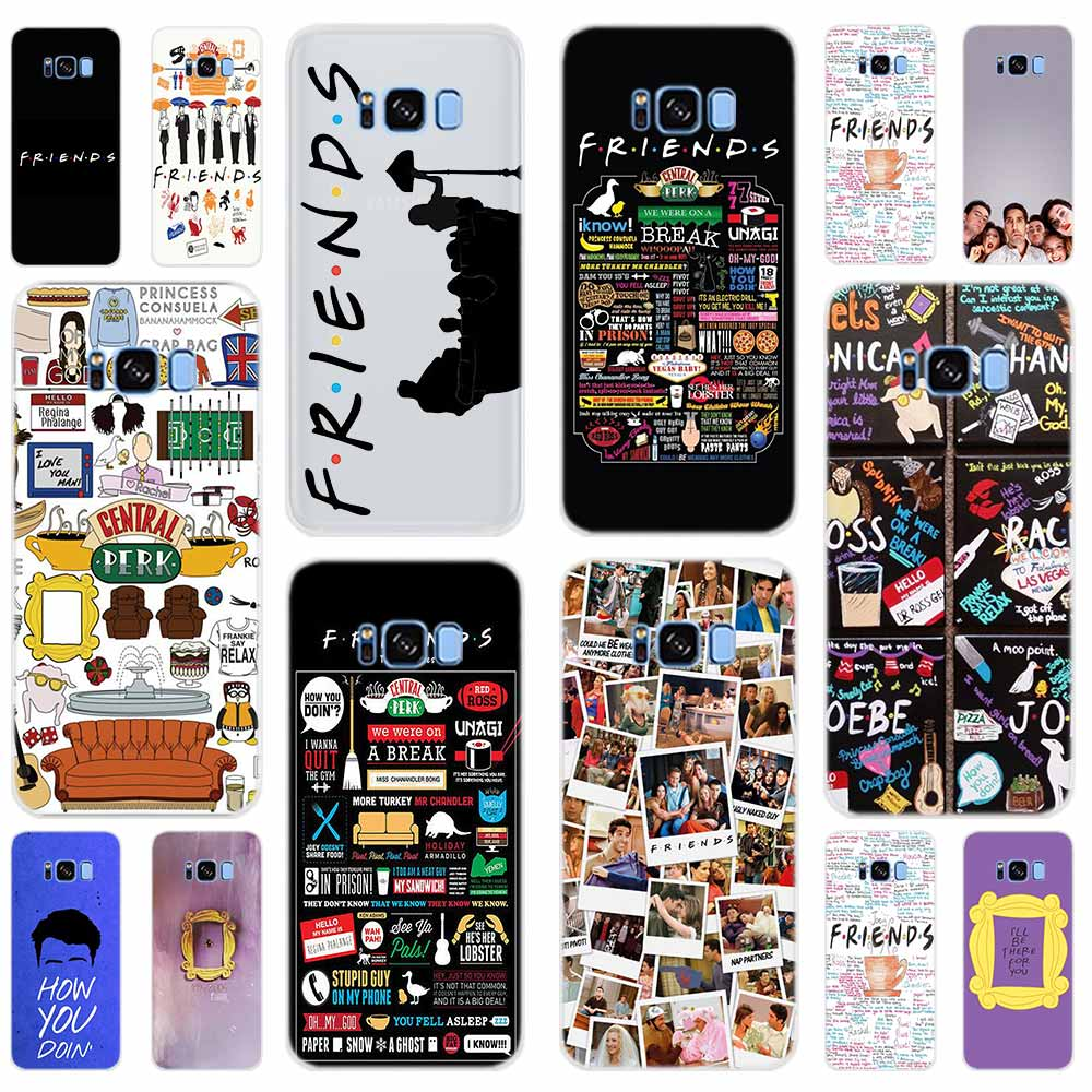 Чехол для телефона Samsung Galaxy S7 Edge S8 S9 S10 S11 S20 S30 Plus Uitra Lite E Friends вместе TV