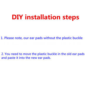 Image 2 - DIY เปลี่ยนแผ่นรองหูฟังแผ่นรองหูฟังโฟมหมอนเบาะรองนั่งถ้วย Earmuffs อะไหล่ซ่อมสำหรับ Mixcder E9 E 9หูฟังชุดหูฟัง