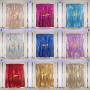 Image 5 - Lqiao 10x10FT Fuchsia Goud Zilver Sequin Achtergrond Trouwfoto Booth Achtergronden Voor Fotografie Studio/Party/Kerst Decor