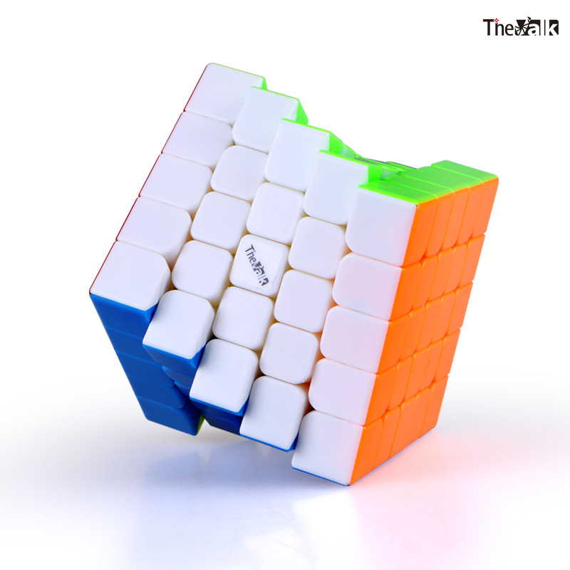 QiYi VALK5M 5x5x5 62mm Magnetic Professional Magico Cubes Speed Neo Cube Cubo Magico Adult Anti stress Puzzle Toys For Children in Magic Cubes from Toys Hobbies