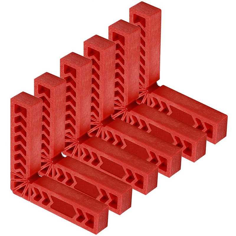 6 шт. дюймовый 90 градусов позиционирования куб прямоугольный крепеж
